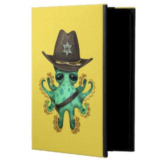 Capa Para iPad Air 2 Xerife verde bonito do polvo do bebê