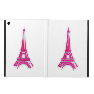 Capa Para iPad Air 3d torre Eiffel, clipart de France