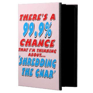 Capa Para iPad Air 99,9% SHREDDING O GNAR (preto)