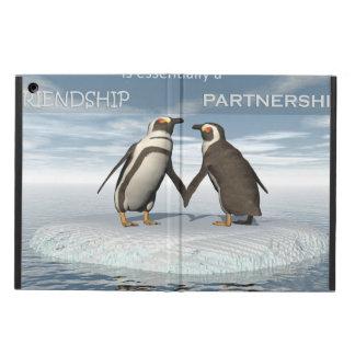 Capa Para iPad Air A amizade é essentailly uma parceria