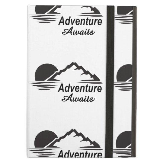 Capa Para iPad Air A aventura espera o excelente da natureza fora