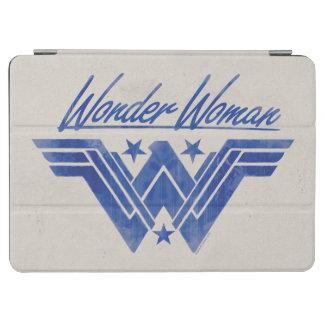 Capa Para iPad Air A mulher maravilha empilhada Stars o símbolo