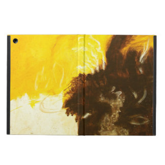 Capa Para iPad Air A pintura da arte abstracta goteja Splatters Brown