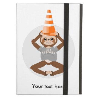 Capa Para iPad Air A preguiça seja um cone da segurança do unicórnio
