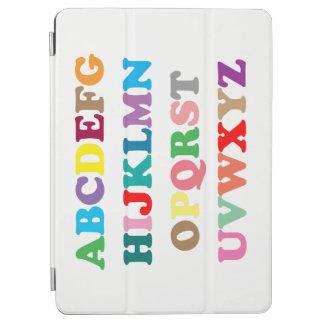 Capa Para iPad Air A rotulação colorida de ABC