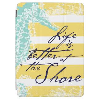 Capa Para iPad Air A vida é melhor na costa