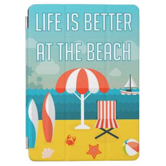 Capa Para iPad Air A vida é melhor na praia