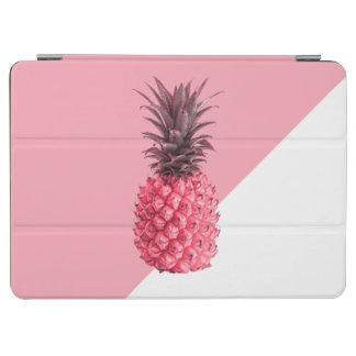 Capa Para iPad Air Abacaxi cor-de-rosa e branco tropical feminino