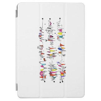 Capa Para iPad Air Abstracção das linhas undulating