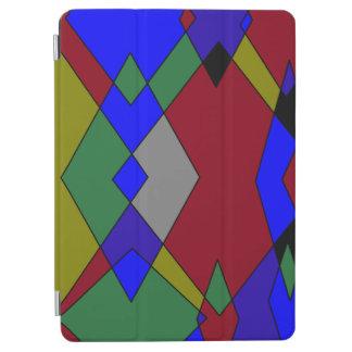 Capa Para iPad Air Abstrato colorido retro do diamante