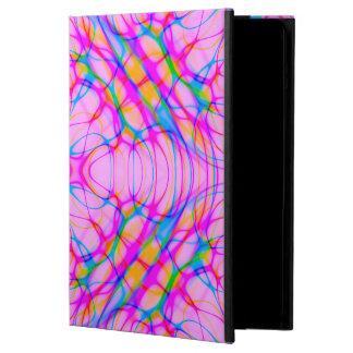 Capa Para iPad Air Abstrato do teste padrão do caleidoscópio do rosa