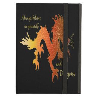 Capa Para iPad Air Acredite sempre em o senhor mesmo & nos dragões