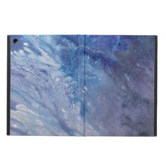 Capa Para iPad Air Água branca azul triste da onda da pintura do