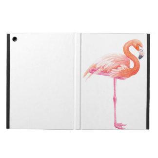 Capa Para iPad Air Aguarela do flamingo