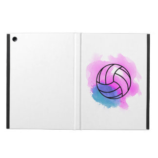 Capa Para iPad Air Aguarela do voleibol