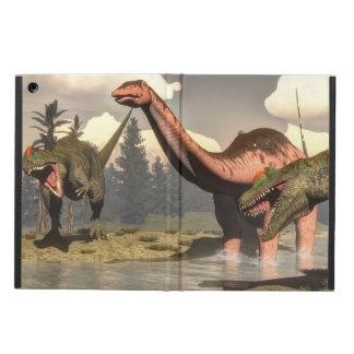 Capa Para iPad Air Allosaurus que caça o dinossauro grande do