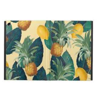 Capa Para iPad Air amarelo dos limões dos abacaxis