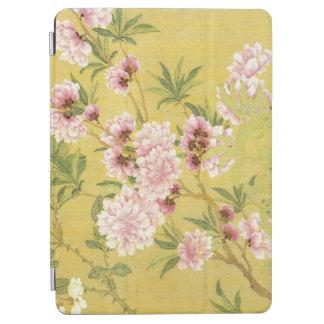 Capa Para iPad Air Ameixa e orquídea de florescência do vintage