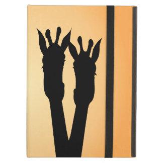 Capa Para iPad Air Amor do girafa
