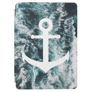 Capa Para iPad Air Âncora náutica no fundo da foto do oceano