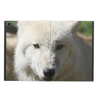 Capa Para iPad Air Animais polis - lobo