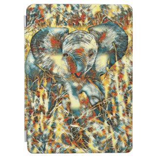 Capa Para iPad Air AnimalArt_Elephant_20170905_by_JAMColors