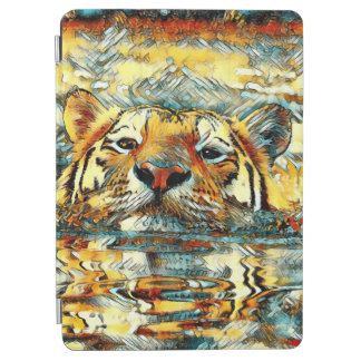 Capa Para iPad Air AnimalArt_Tiger_20170601_by_JAMColors
