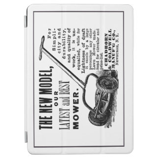Capa Para iPad Air Anúncio do cortador de relva do vintage