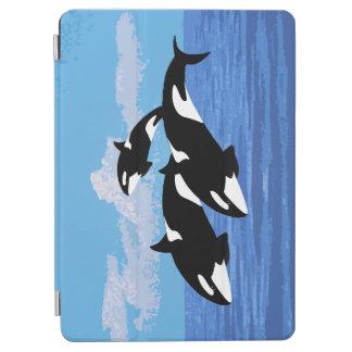 Capa Para iPad Air Ar do iPad das orcas e cobrir esperto do ar 2 do