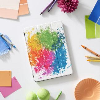 Capa Para iPad Air Arco-íris do pó da cor