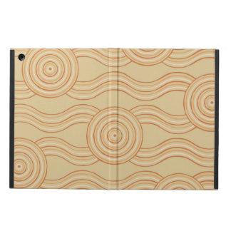 Capa Para iPad Air Arenito aborígene da arte