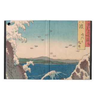 Capa Para iPad Air Arte de Hiroshige do japonês do redemoinho de