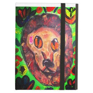 Capa Para iPad Air Arte do retrato do leão