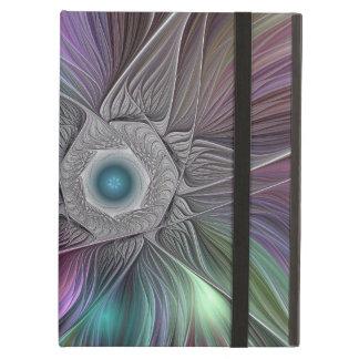 Capa Para iPad Air Arte moderna abstrata colorida do Fractal de