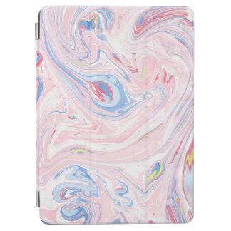 Capa Para iPad Air Arte moderna elegante Pastel do mármore luxuoso do