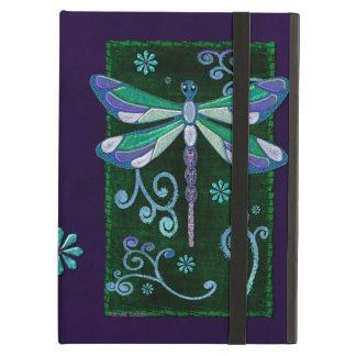 Capa Para iPad Air Arte popular Jeweled elegante da libélula NOMEADA