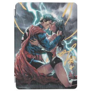 Capa Para iPad Air Arte relativa à promoção cómica do superman/mulher