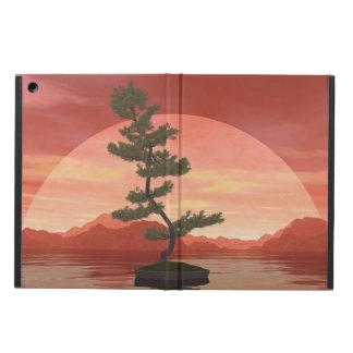 Capa Para iPad Air Árvore dos bonsais do pinho escocês - 3D rendem