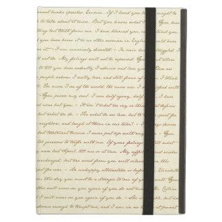 Capa Para iPad Air As citações do melhor de Jane Austen