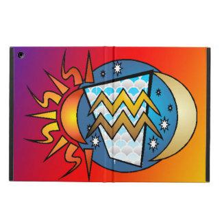 Capa Para iPad Air astrologia, Aquário
