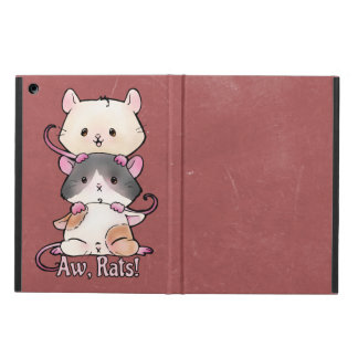 Capa Para iPad Air Aw, ratos!