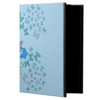 Capa Para iPad Air Azul da borboleta