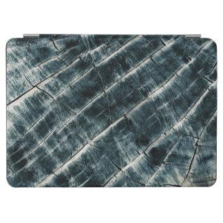 Capa Para iPad Air Azul pintado de madeira