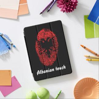 Capa Para iPad Air Bandeira albanesa da impressão digital do toque