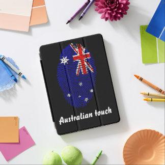 Capa Para iPad Air Bandeira australiana da impressão digital do toque