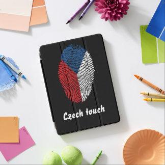 Capa Para iPad Air Bandeira checa da impressão digital do toque