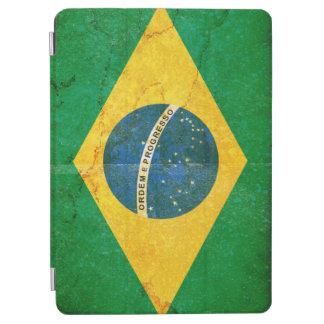 Capa Para iPad Air Bandeira de Brasil do Grunge do vintage