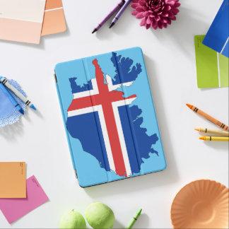 Capa Para iPad Air Bandeira de país de Islândia