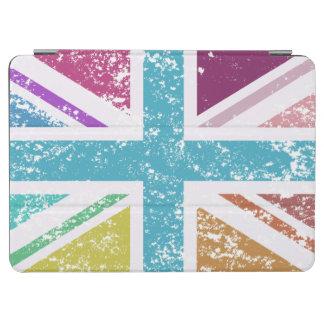 Capa Para iPad Air Bandeira de união afligida colorido