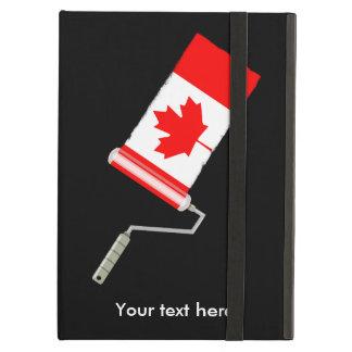 Capa Para iPad Air Bandeira do rolo de pintura de Canadá